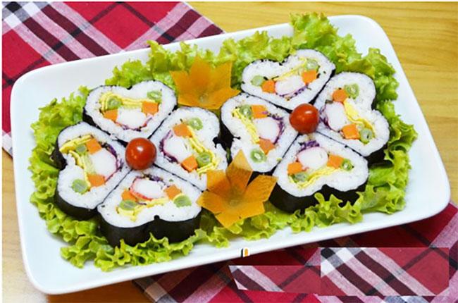 Bộ Dụng Cụ Làm Sushi 10 Món Chế Biến Sushi Thật Dễ Dàng