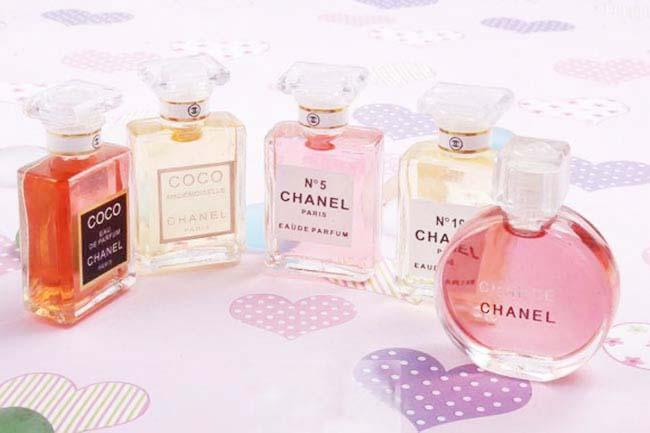 Bộ gift Set 5 Lọ Nước Hoa Chanel Women
