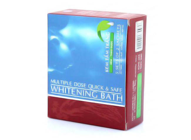 Kem Tắm Trắng Sâm Thảo Dược Whitening Bath