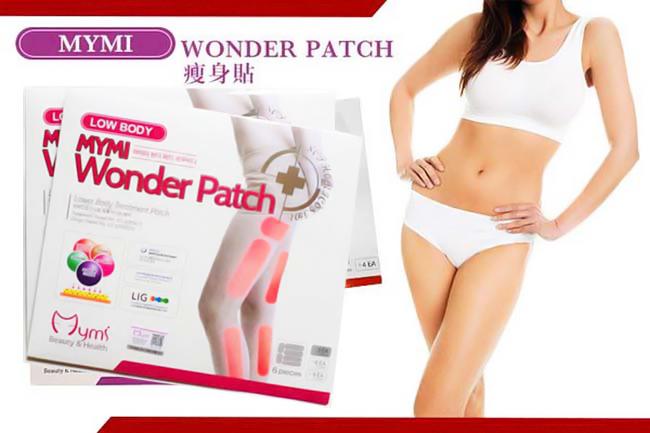 Miếng Dán Thon Đùi Mymi Low Body Wonder Patch Hàn Quốc