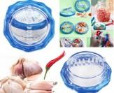 Dụng Cụ Xay Tỏi Ớt Răng Nhựa An Toàn Và Tiện Dụng