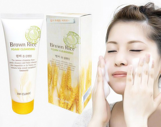 Sữa Rửa Mặt Brown Rice Foam Cleansing Hàn Quốc
